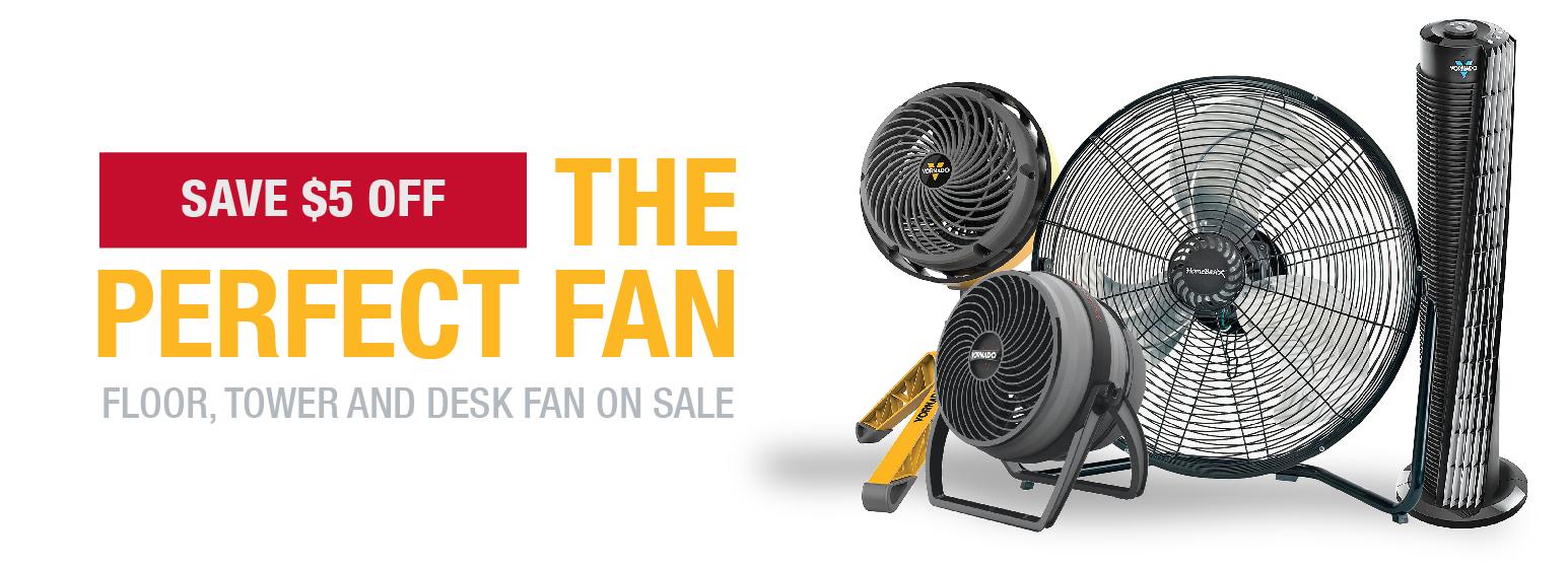 City Mill Fan Sale