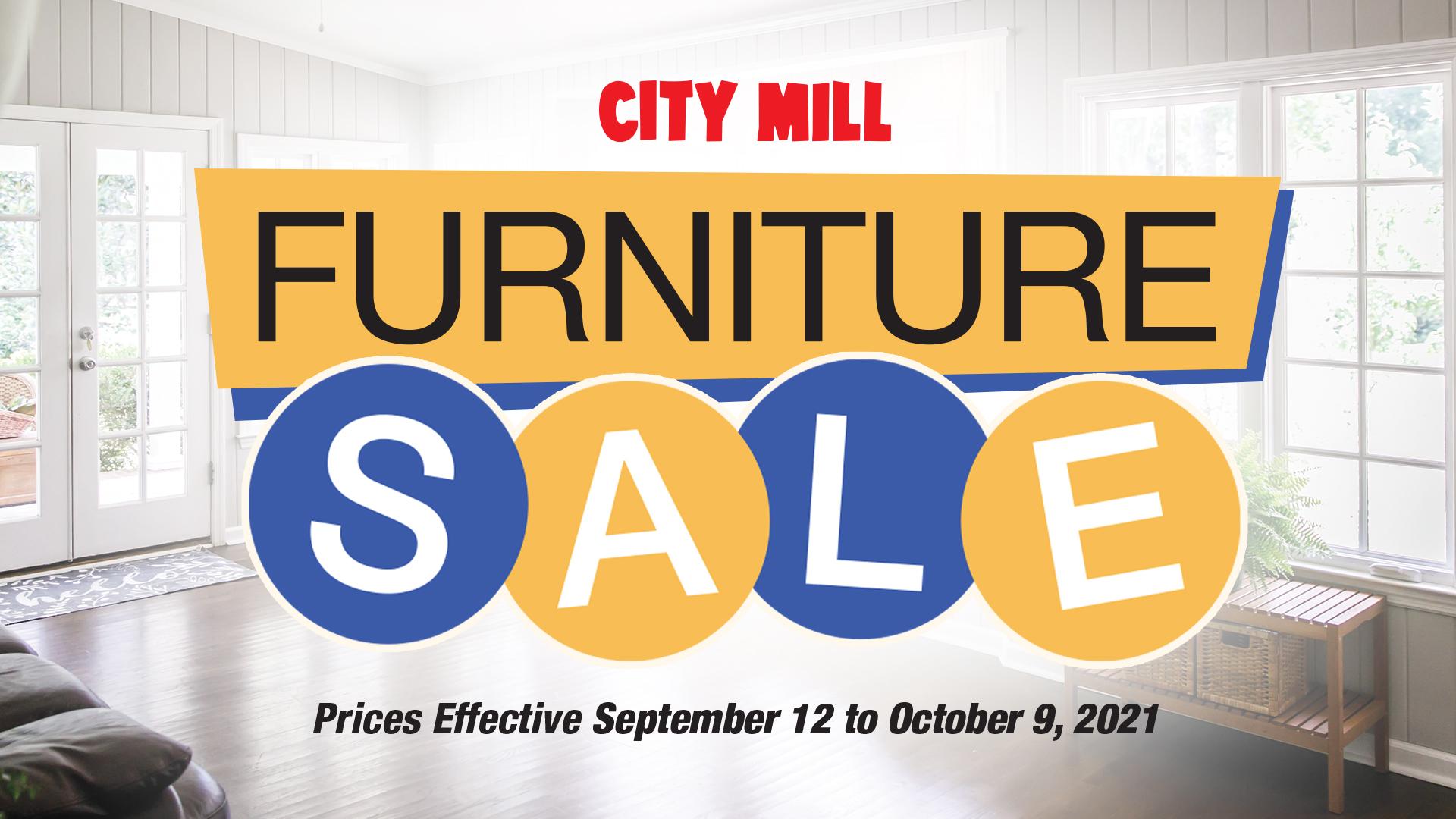 Fall Furniture Sale City Mill