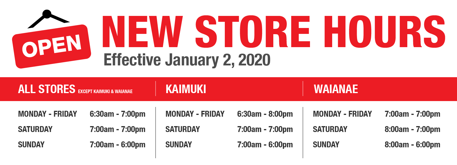 City Mill 2020 Store Hours
