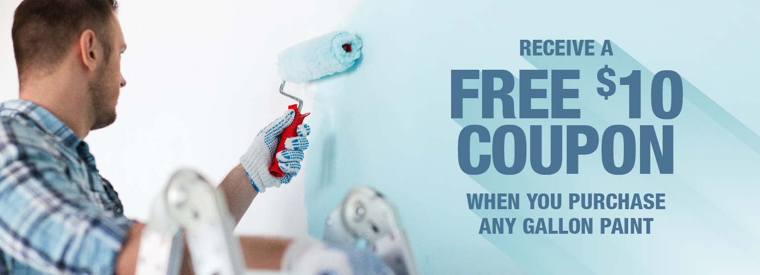 City Mill Paint Sale - Free $10 Coupon
