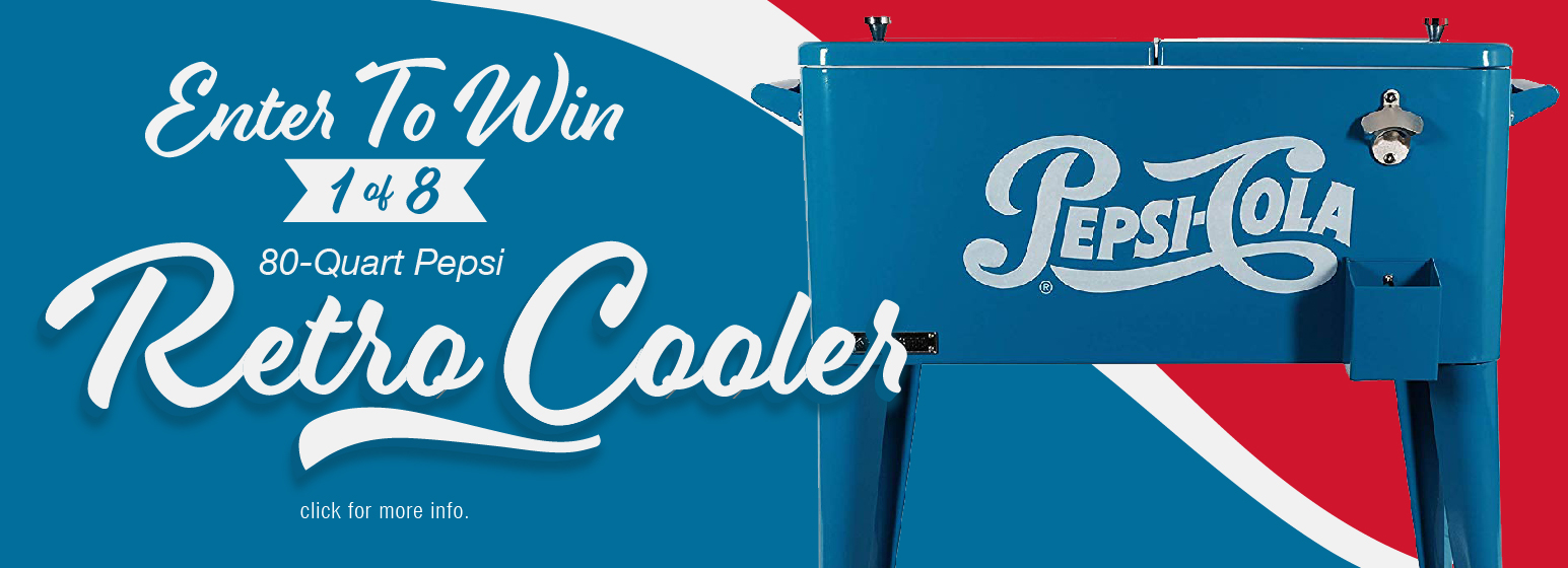 City Mill Enter To Win Retro Cooler