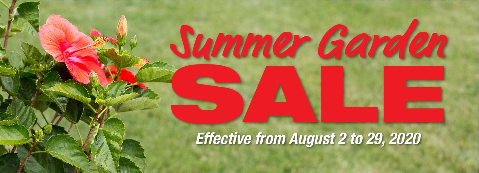 Summer Garden Sale