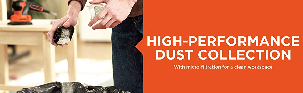 High-performance dust collection