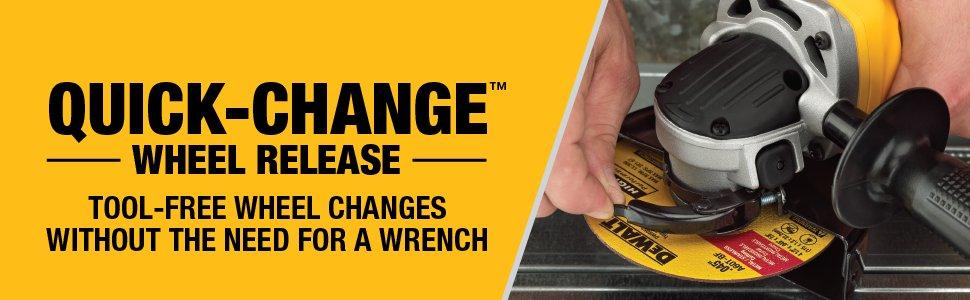 Quick-change wheel release