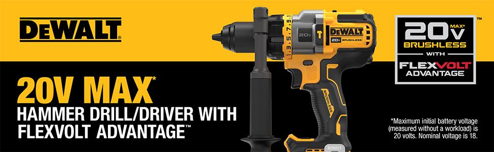 20V Hammer drill marketing banner