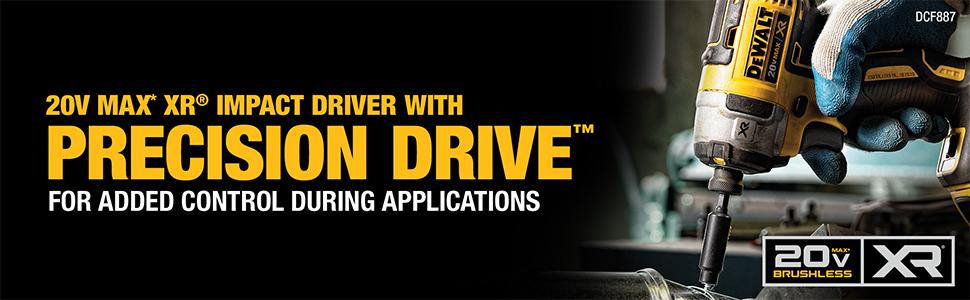 20V Impact driver marketing banner